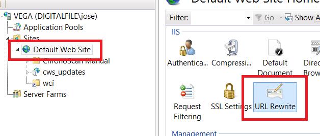 Running ChronoScan Web Server through a Reverse Proxy (IIS)